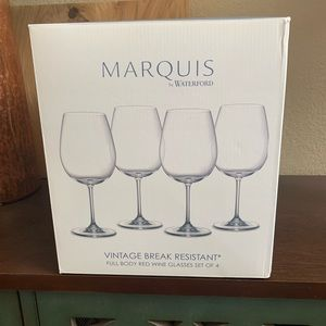 NIB Red Wine Glasses